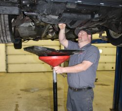Mechanic at Auto/Truck Repair Center